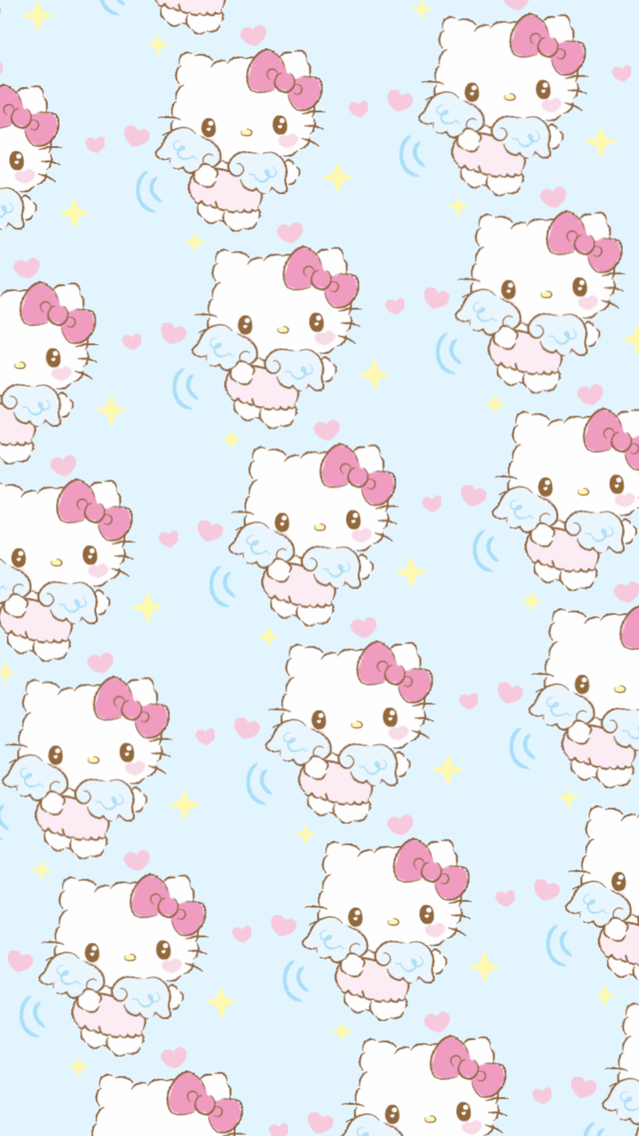 Hello Kitty Aesthetic Background : hello, kitty, aesthetic, background, Background, Hello, Kitty, Aesthetic, Wallpaper, HomeLooker