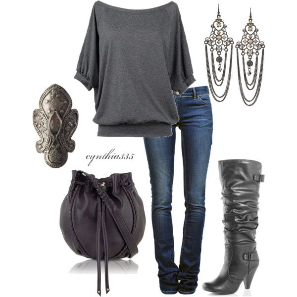 I think it could be a fall look. Off-Shoulder Tee – Get a casual fall look with off an off shoulder ...