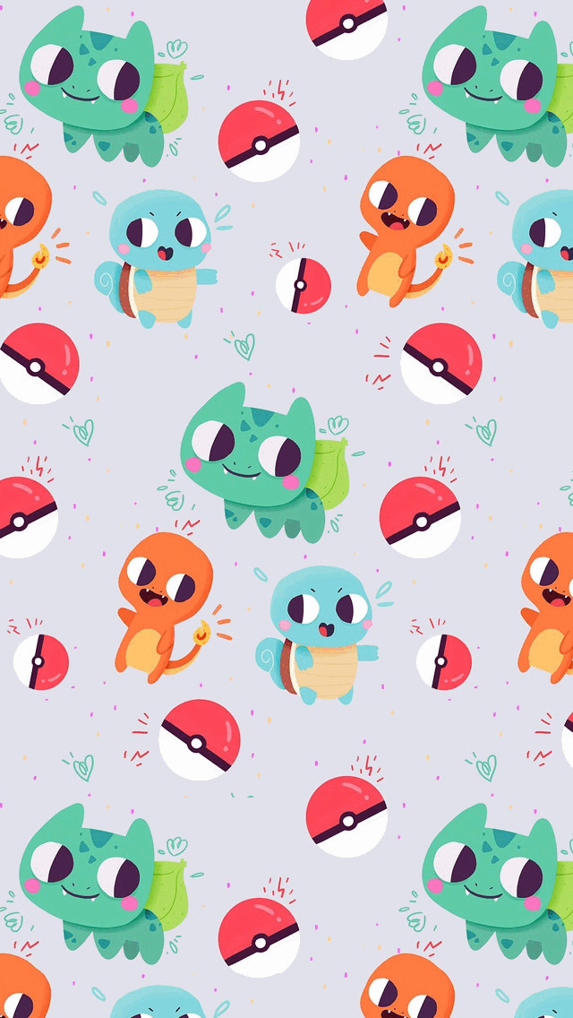 Cute Bulbasaur Charmander And Squirtle Pokemon Tap To See More Of