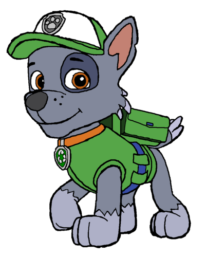 Paw patrol rubble. Construction pup party