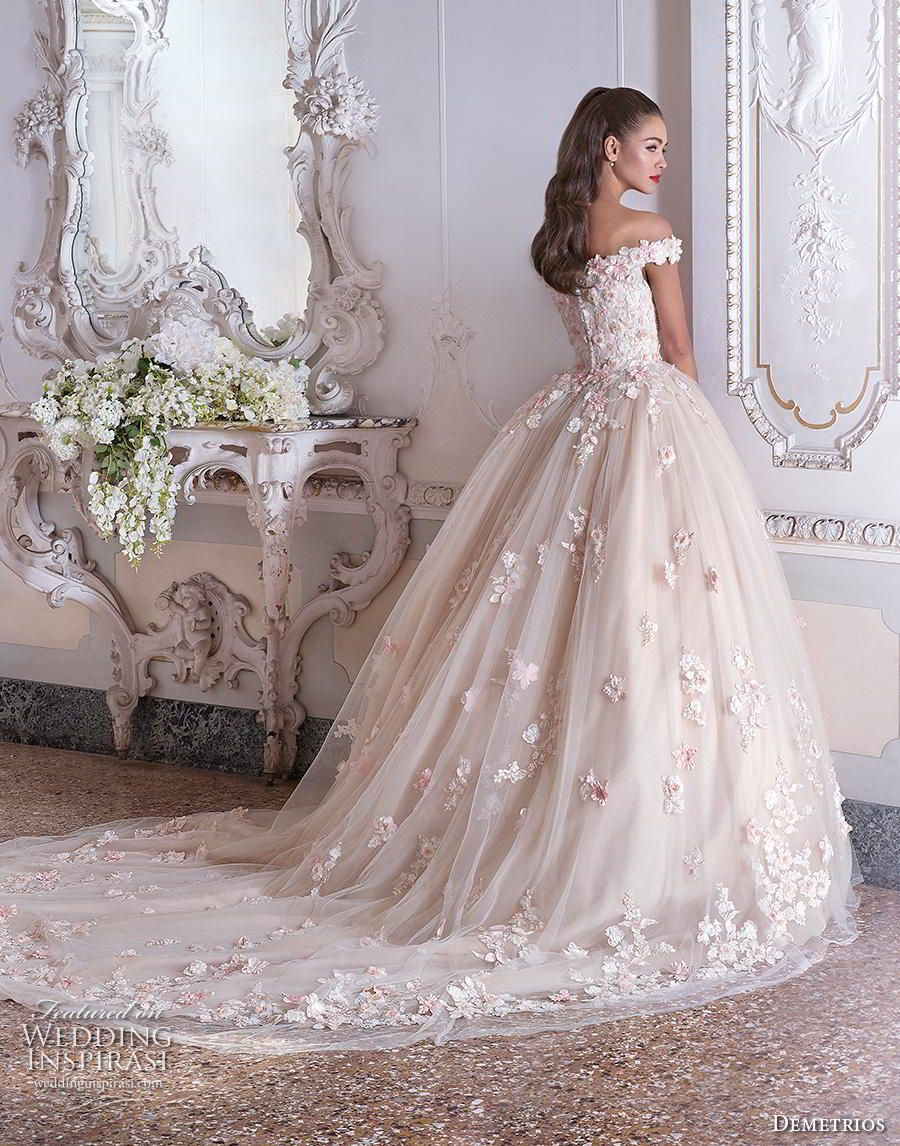 Platinum By Demetrios 2019 Wedding Dresses Wedding Inspirasi Ball Gowns Wedding Long Wedding Dresses Wedding Dress Styles [ 1146 x 900 Pixel ]