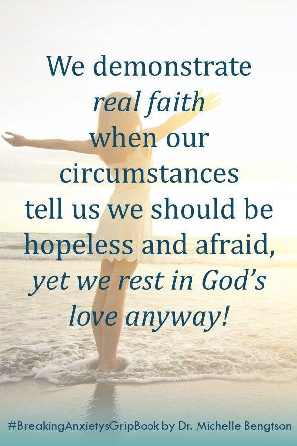 Trusting God when we feel hopeless and afraid