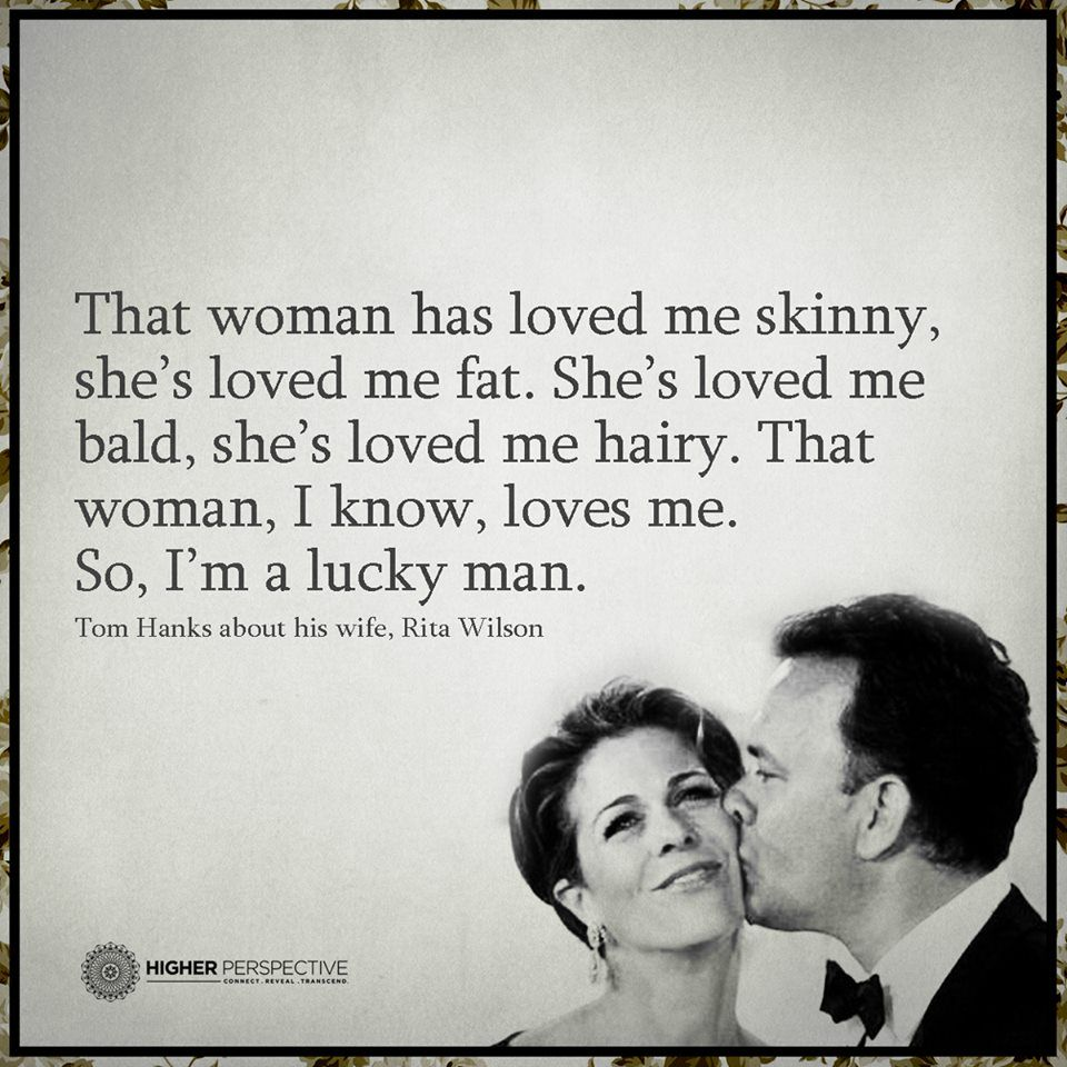 That woman, I know, loves me.