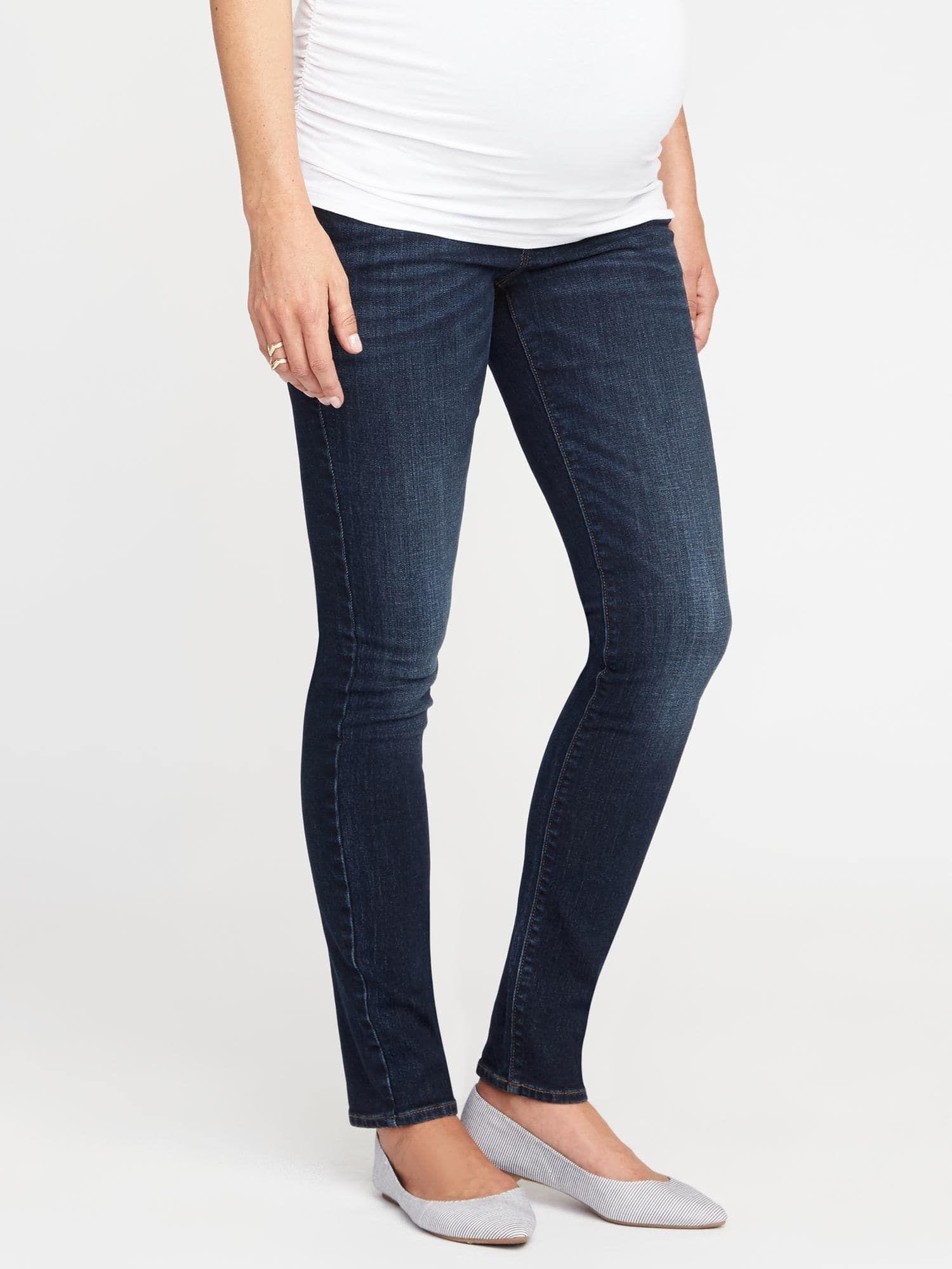 d7bb37c1dc5 Maternity Full-Panel Skinny Jeans   Pregos/Nursing-breastfeeding ...