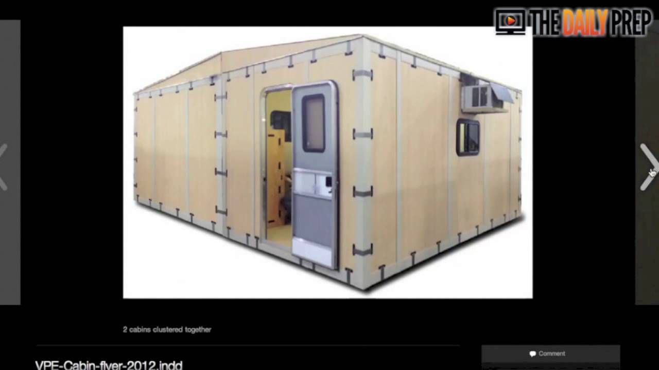 Portable Bug Out Shelters : Modular bug out shelters for cheap compassion