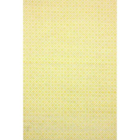 nuLOOM Hand Loomed Holcombe Area Rug, Yellow