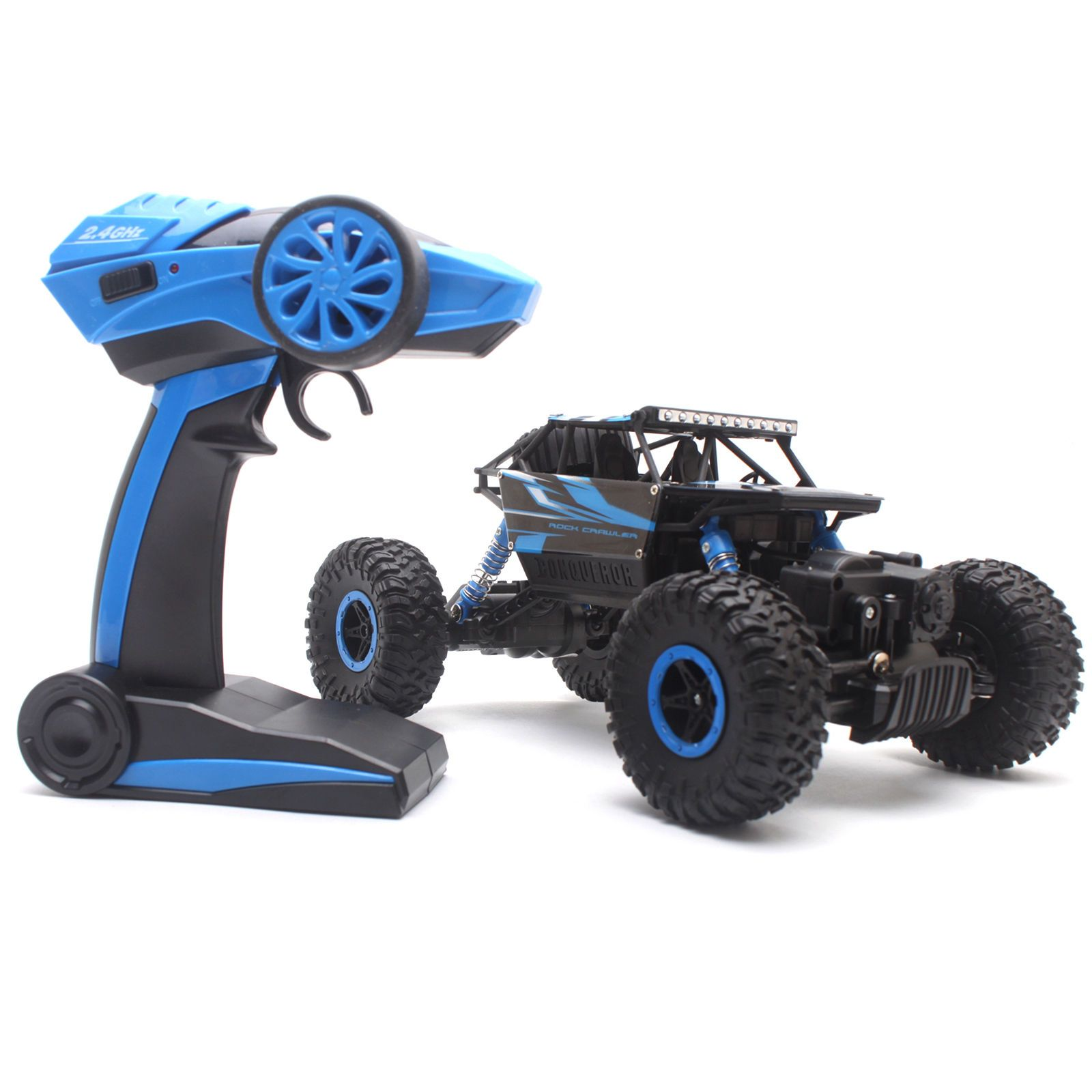 4WD RC Monster Truck Off-Road Vehicle 2.4G Remote Control