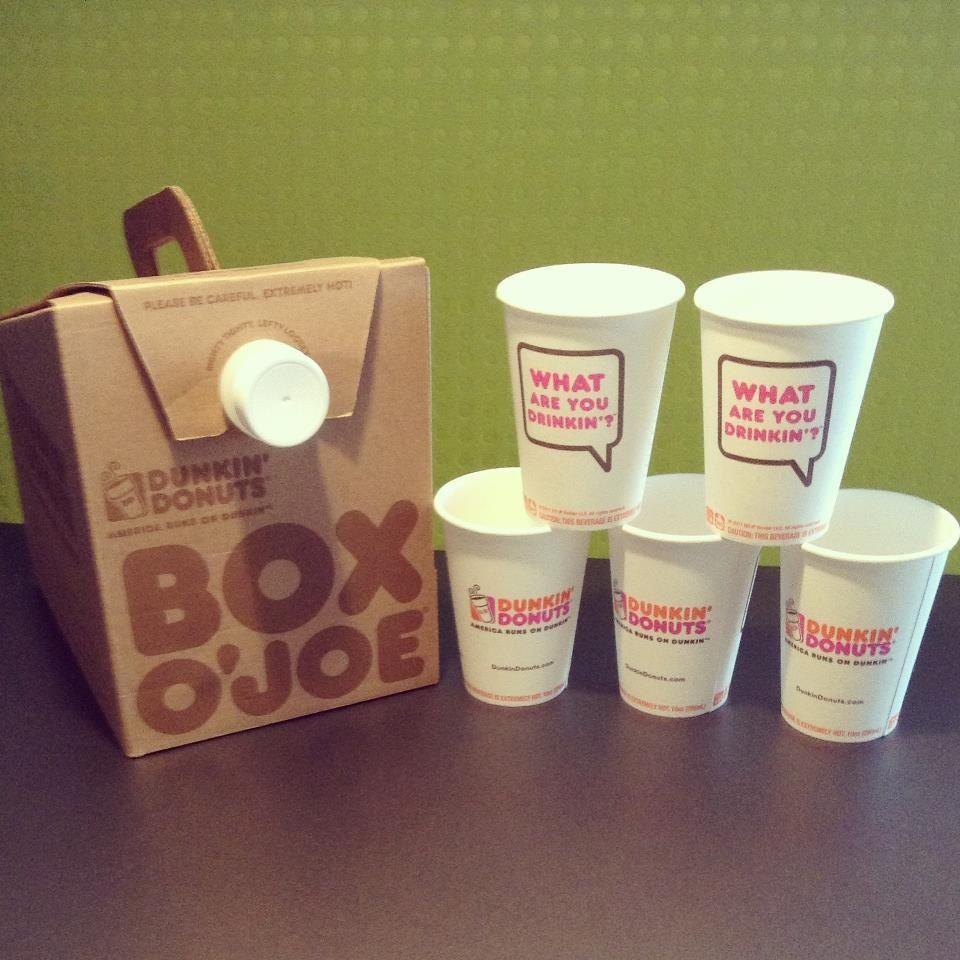 Coffee In A Box How Wonderful Dunkin Donuts Coffee Dunkin