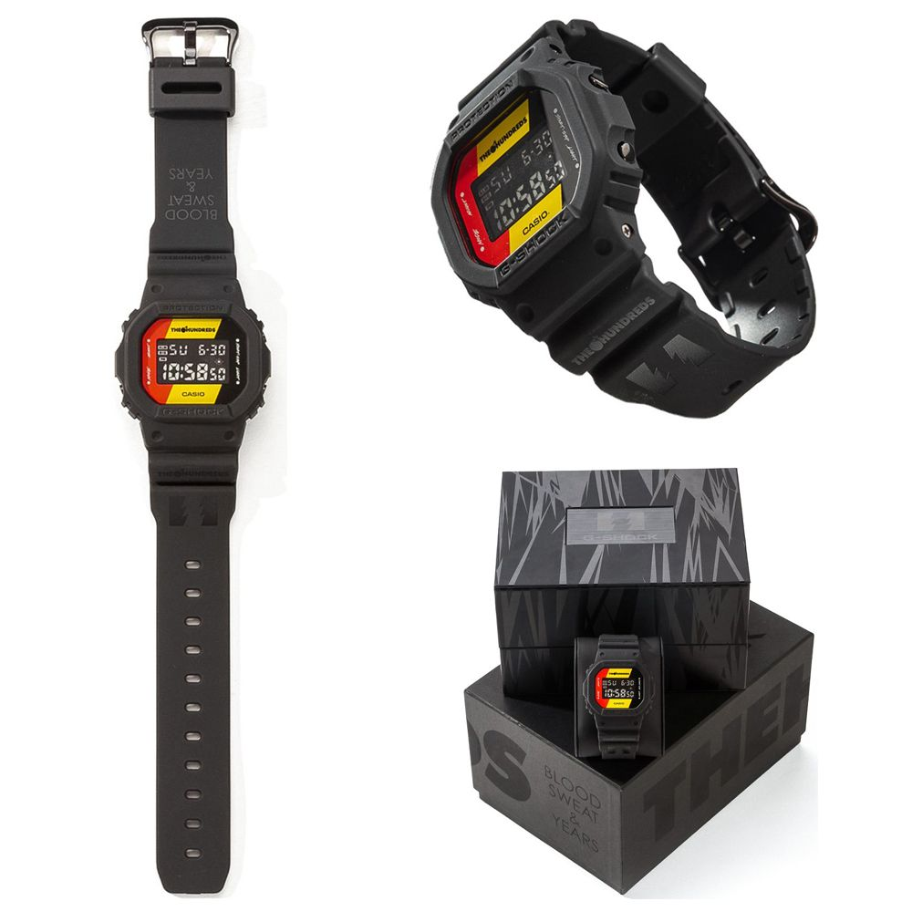 Casio gshock x the hundreds collaboration mens watch