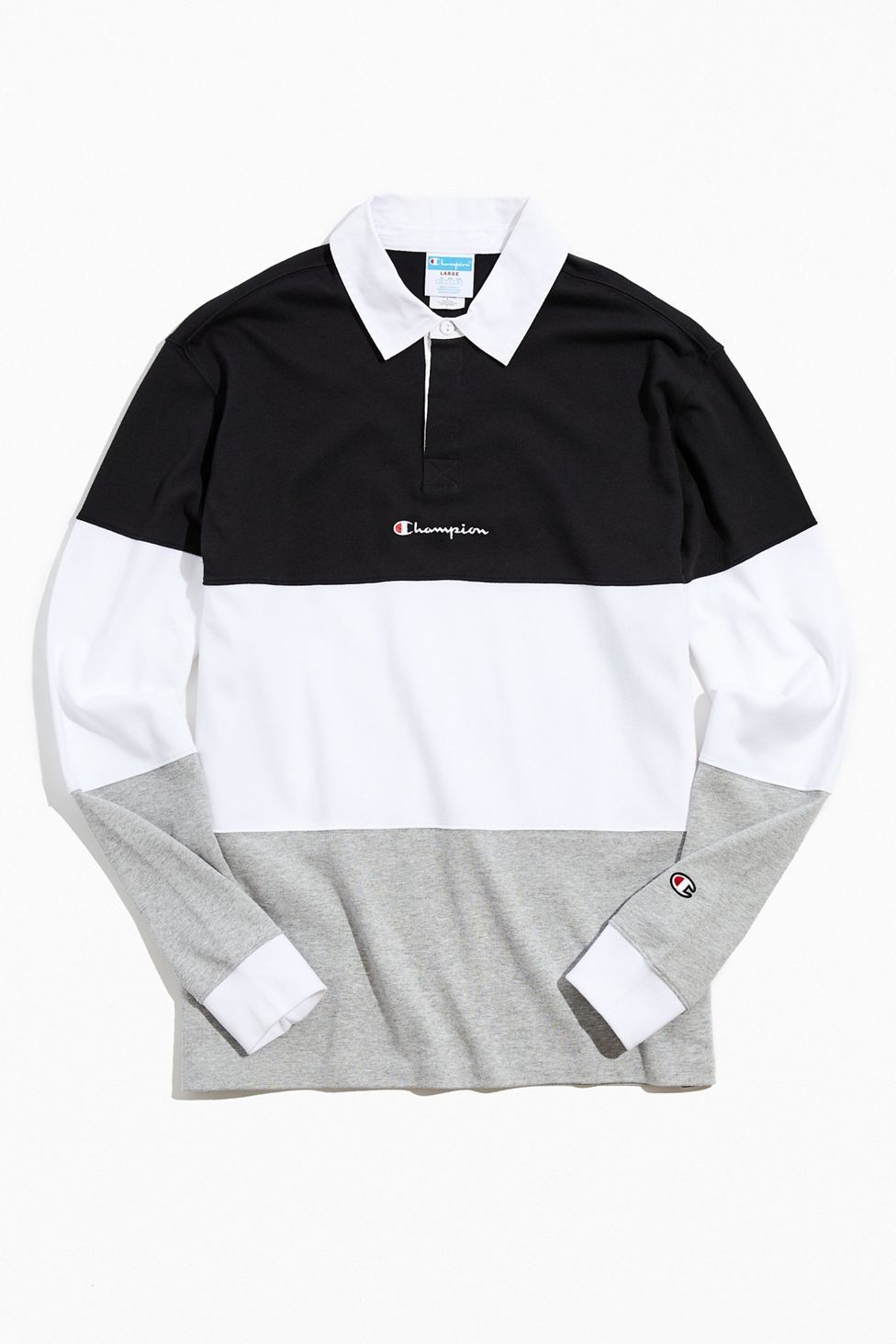 Champion Uo Exclusive Colorblock Rugby Shirt Urban Outfitters In 2021 Mens Rugby Shirts Rugby Shirt Rugby Fashion [ 1463 x 976 Pixel ]