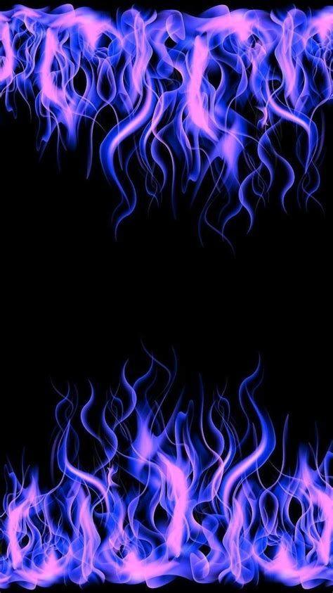 Purple Flames 💜😈 | Purple Wallpaper Iphone, Edgy Wallpaper