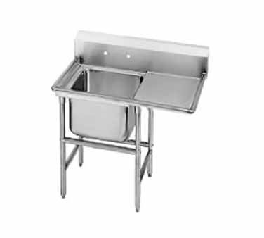 Advance Tabco Regaline Sink One Cmpt 20 94 21 20 36r Regaline Sink One Compartment W Right Hand Drainboard 20 Advance Tabco Sink Commercial Kitchen