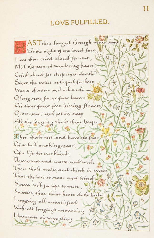 A Book Of Verse - A Facsimile of the Manuscript Written in 1870 by ...