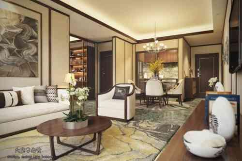 appartement aux nuances dorees deco asiatique nuances appartement design decoration d interieur