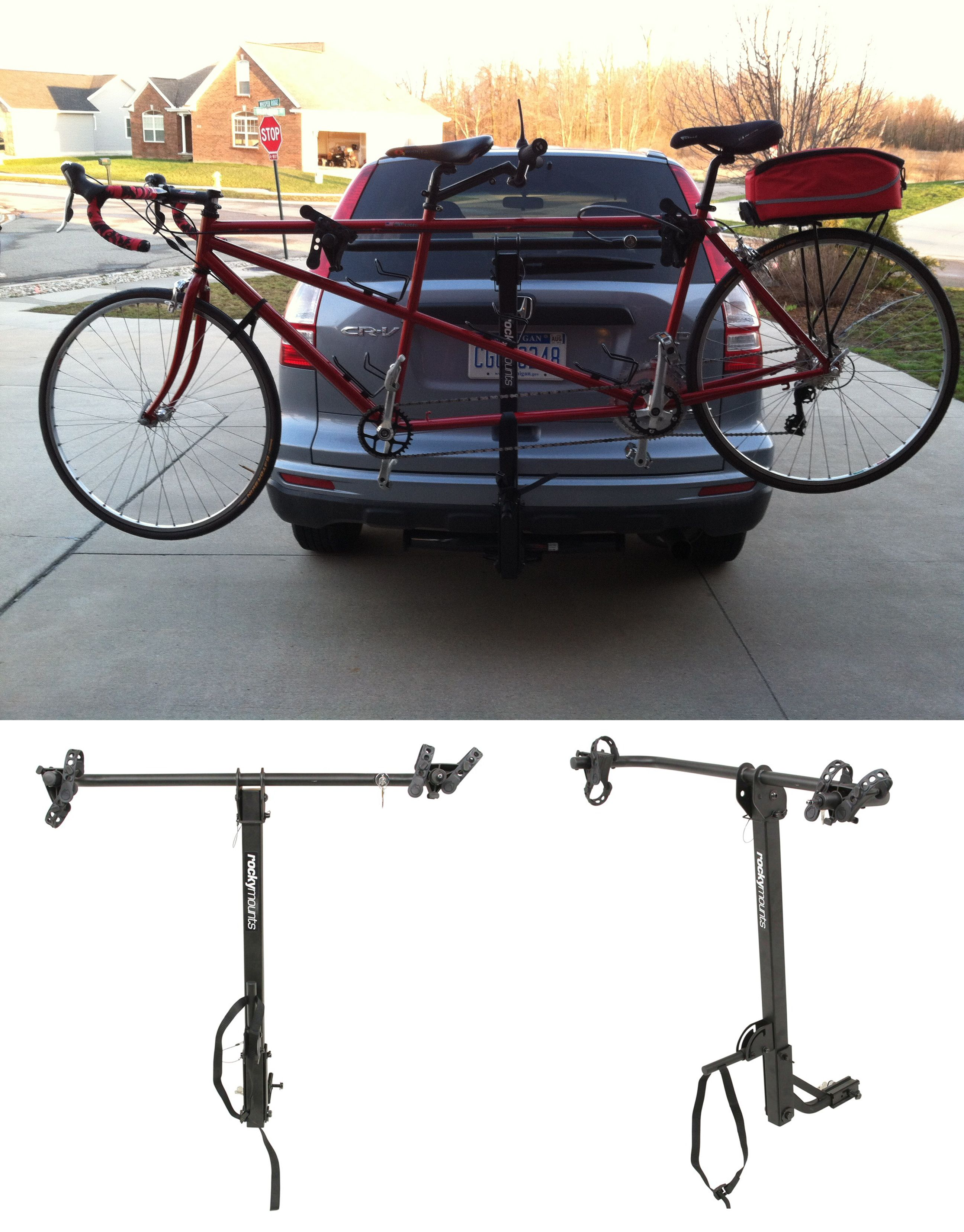 Gps Tracking Device For Cars >> A tandem bike needs a mode of transportation too! This ...