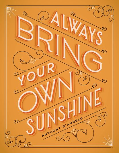 No matter where you go or what you're doing, remember to bring your sunshine! @Rebecca Feldman this would be a good one to do a quote on burlap as well!
