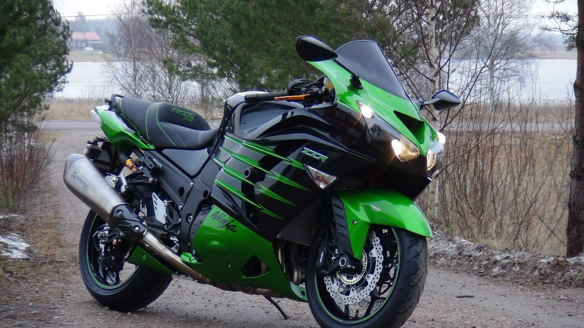 Delicieux New Bike On The Road Kawasaki ZZR 1400 Wallpapers And Images