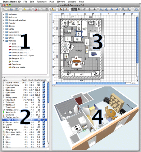 Sweet Home 3d User S Guide Home Design Software Home Design Software Free Free Interior Design Software