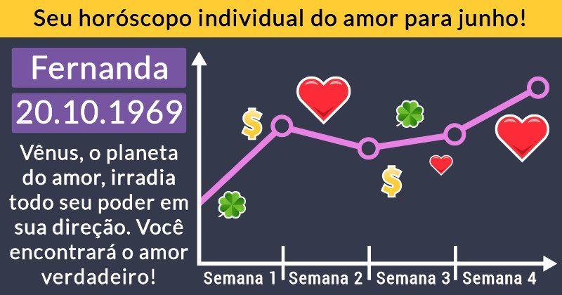 Seu horóscopo individual do amor para junho!