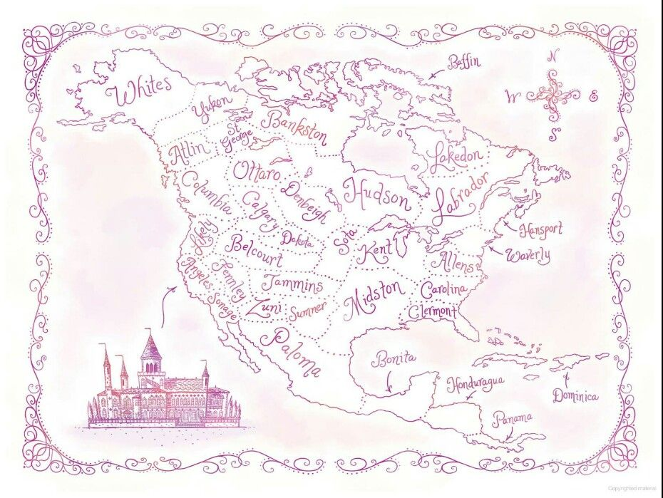 Pin by packbai001 on the selection pinterest selection series the beautiful map of illea from the book happily ever after sciox Choice Image