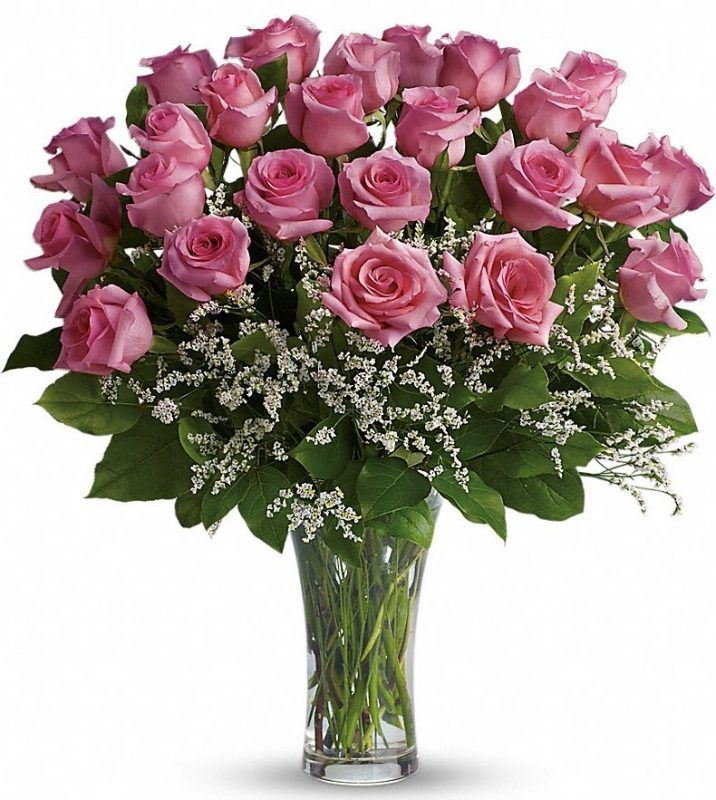 Make Me Blush Pink rose bouquet, Pink roses, Rose
