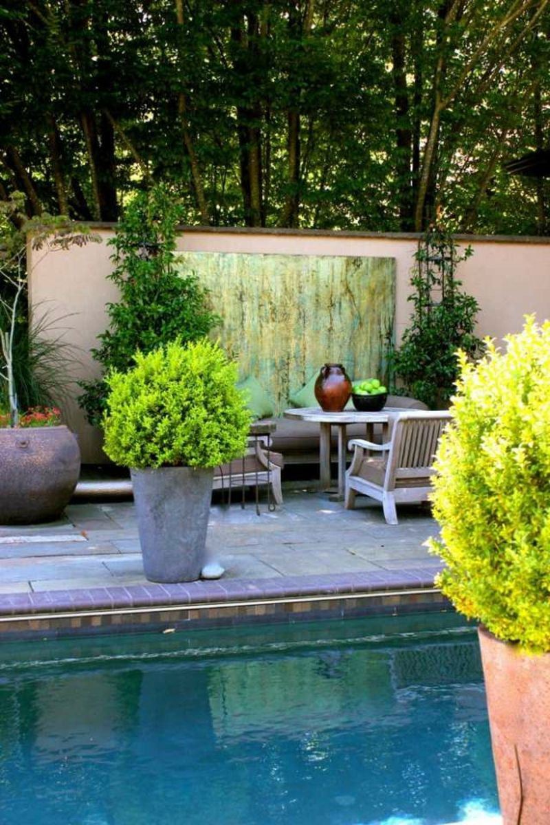 beton pflanzk bel selber machen garten terrasse ideen garden pinterest pflanzk bel. Black Bedroom Furniture Sets. Home Design Ideas