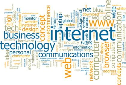 word internet technology cloud web ict websites information check development inspiration words communication illustration website communications science concept across getting