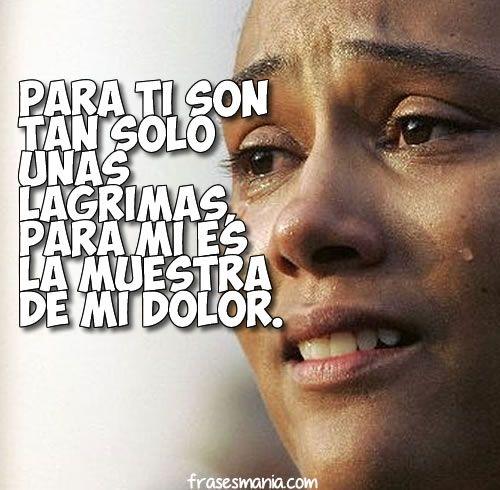 No Te Rías De Las Lágrimas De Nadie