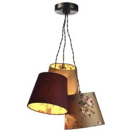 Buy Mitford 3 Shade Ceiling Pendant from our Pendant Lighting ...