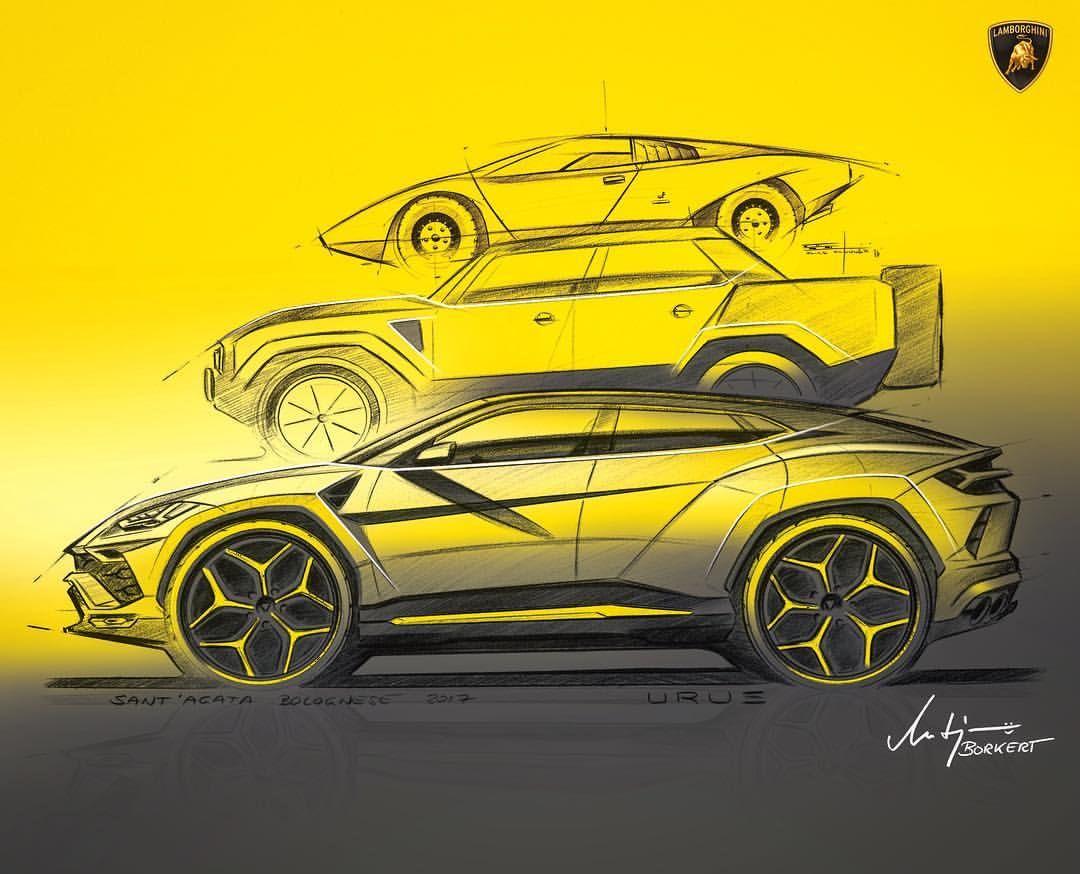 lamborghini urus products lamborghini, art cars, automotive designlamborghini urus lamborghini urus car design sketch