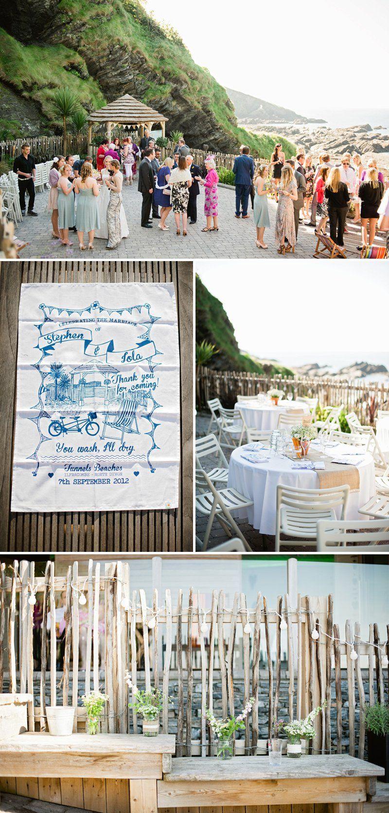 A Seaside Outdoor Wedding