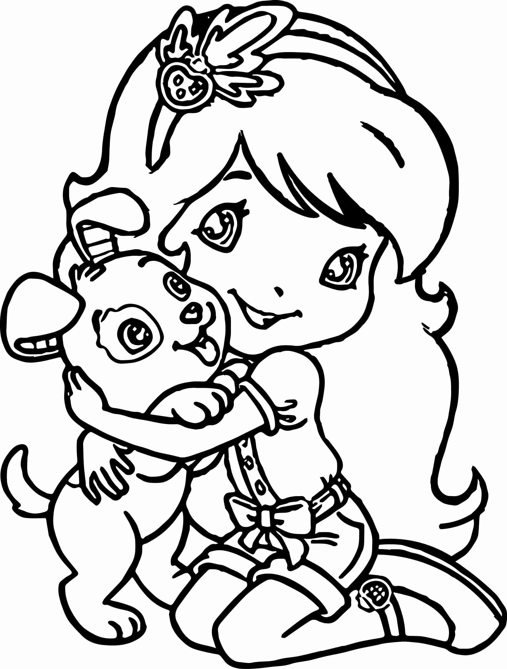 Coloring Sheets For Girls Elegant Superb Coloring Coloring Pages For Girls Dogs Puppy Coloring Pages Dog Coloring Page Witch Coloring Pages