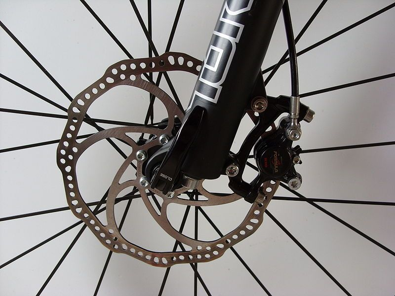 A Front Disc Brake Mounted To The Fork And Hub Best Mountain