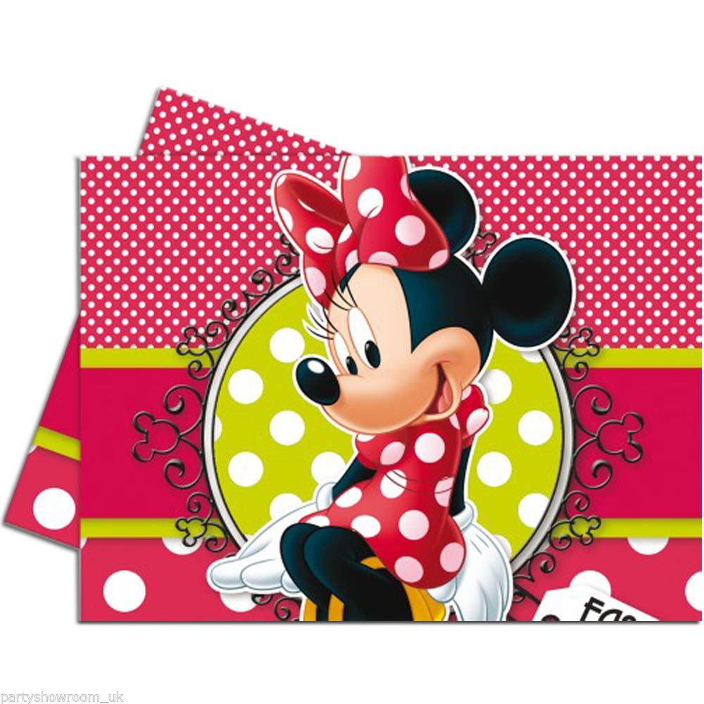 #Disney #MinnieMouse #Birthday #Party #Decorations #Supplies #Tableware