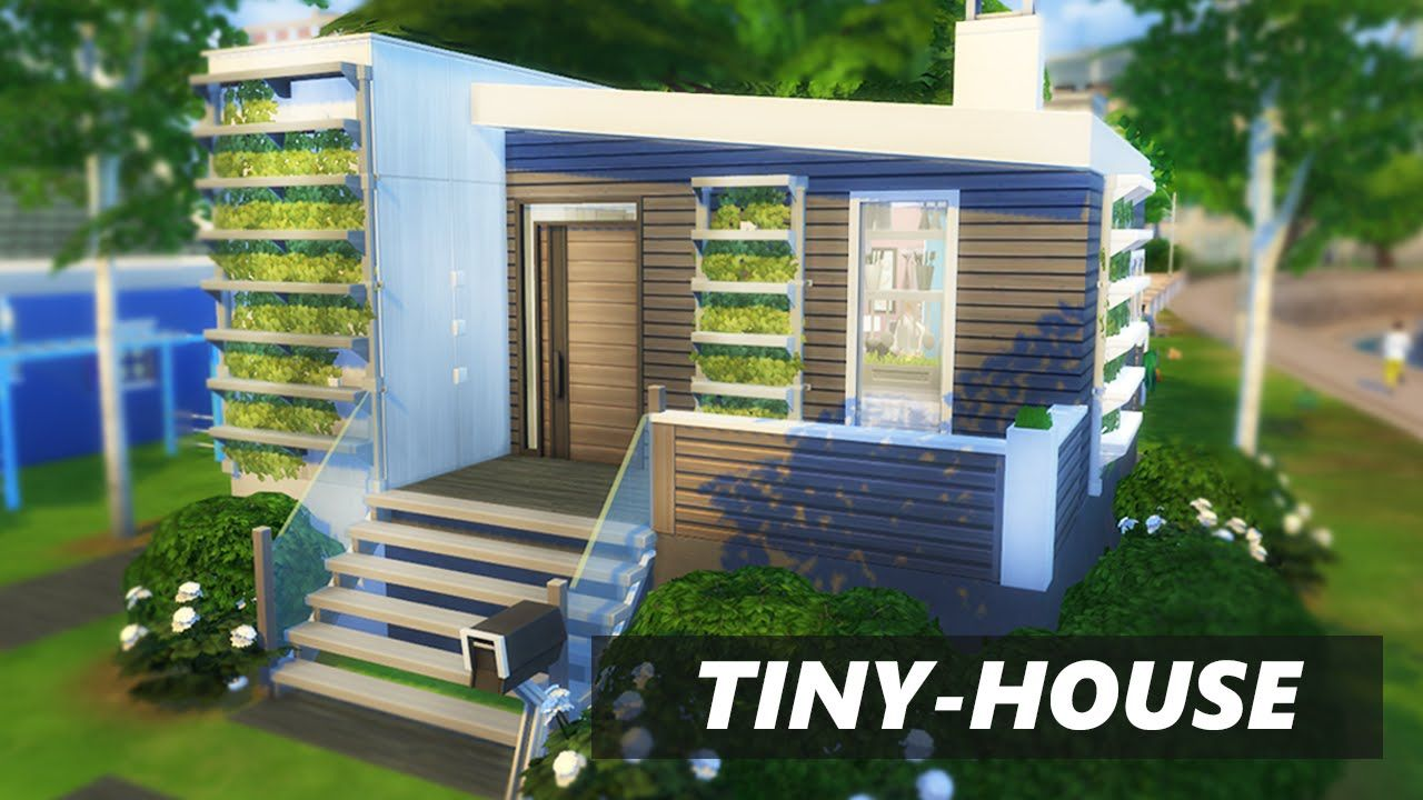 The sims 4 tiny house build 2xbedrooms