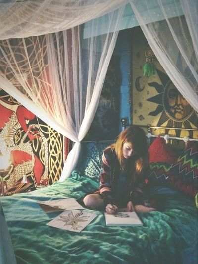 Teen boho bedroom - Google Search