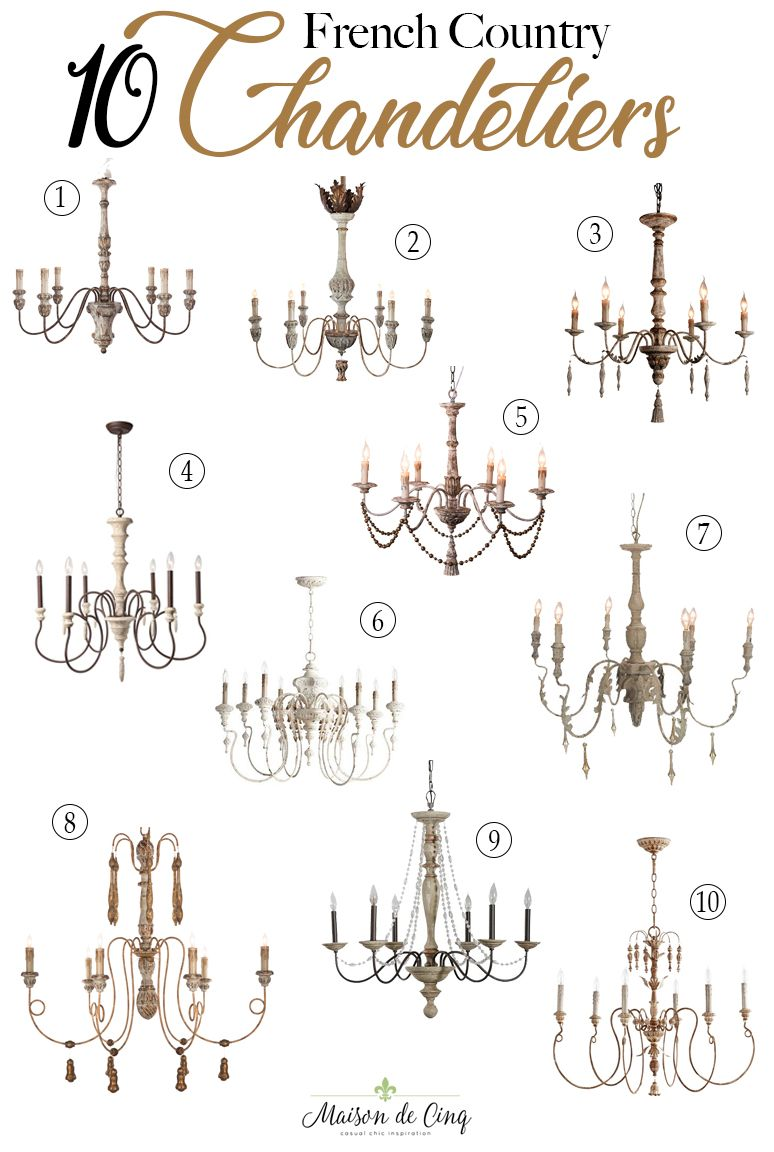 Ten Of The Most Stunning Rustic French Country Chandeliers French Country Chandelier Rustic French Country Country Chandelier