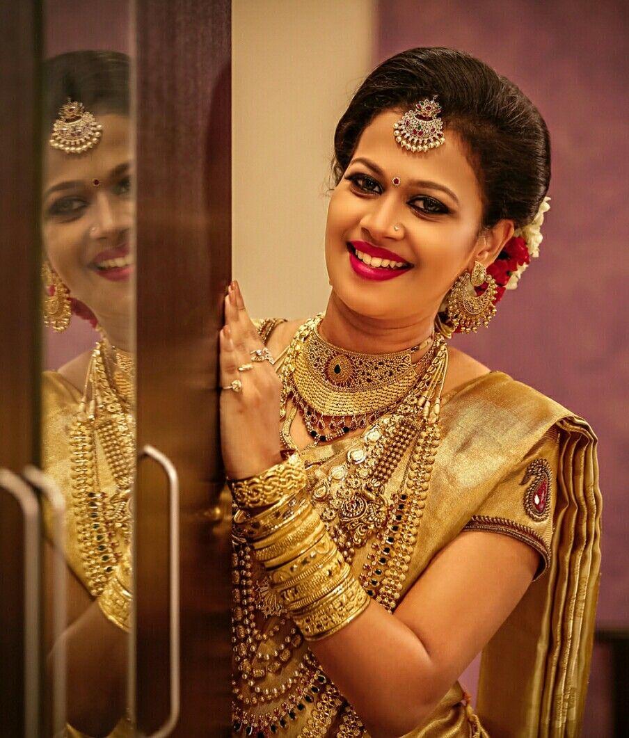 Pinterest: @cutipieanu | Indian wedding bride, Kerala bride, Indian wedding hairstyles