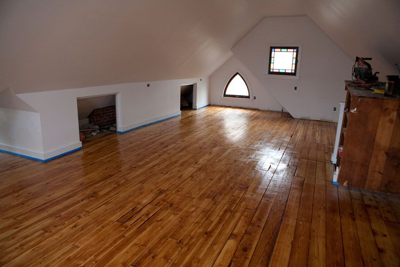 Finished Attics Before And After Custom Renovations Hugh Name It Builders