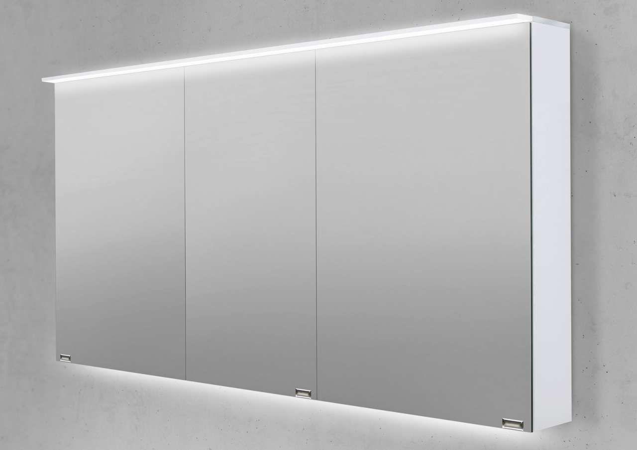 Spiegelschrank 140 Cm Led Acryl Lichtplatte Doppelt Verspiegelt Jetzt Bestellen Unter Https Moebel Ladendirekt De Bad Badmoebel S Spiegelschrank Led Schrank