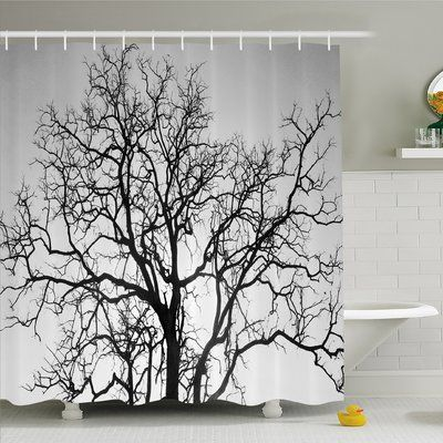 Ambesonne Forest Dead Old Branches Arms Limbs Sadness Symbol Tree