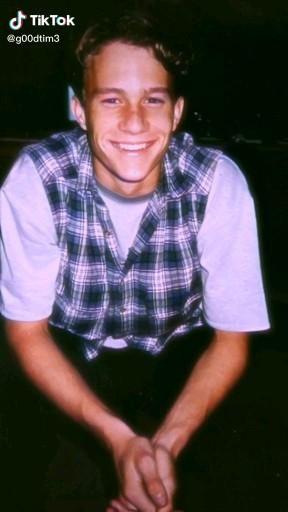 Heath Ledger♡ edit photos 90s