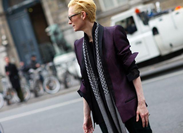 Paris Fashion Week - Tilda Swinton