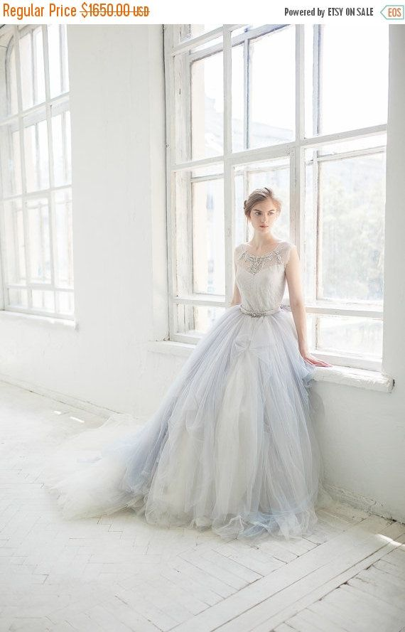 Black Friday Tulle Wedding Gown Gardenia By Carouselfashion