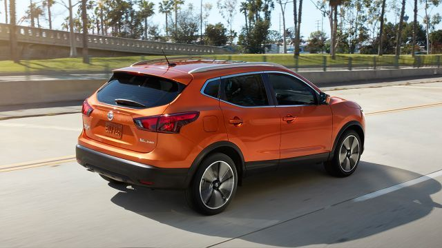Nissan Rogue Sport Shown In Orange With Images Nissan Rogue Hybrid Car Nissan