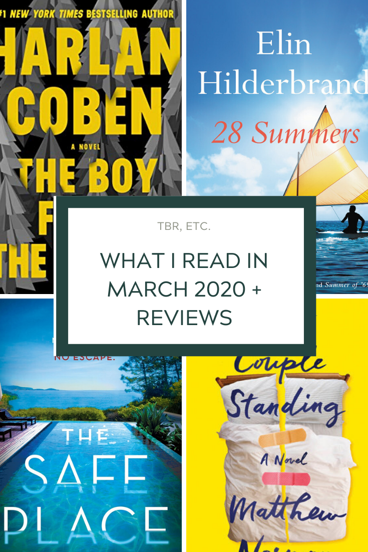 What I Read In March 2020 Reviews Book Club List Book Club