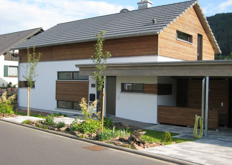 Rosskopf Holzhaus sandweg architecture house and haus