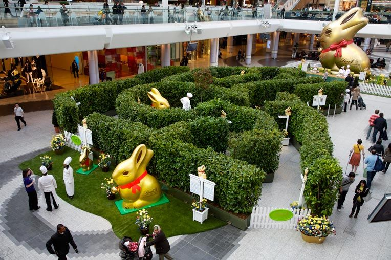 Shopping Centre Activations Garden Maze Experiential