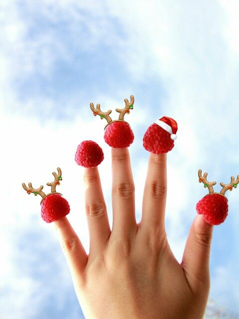 Xmas mood - raspberries