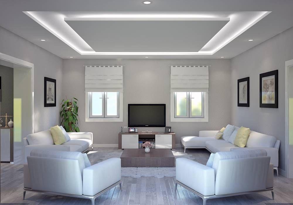 محمود الجاسم للتعهدات والديكور والصيانة العامة تنفيذ ديكور محلات منازل شقق حديثة م Ceiling Design Living Room Bedroom False Ceiling Design House Ceiling Design
